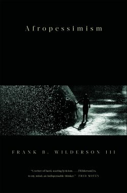 The cover of the book Afropessimism
