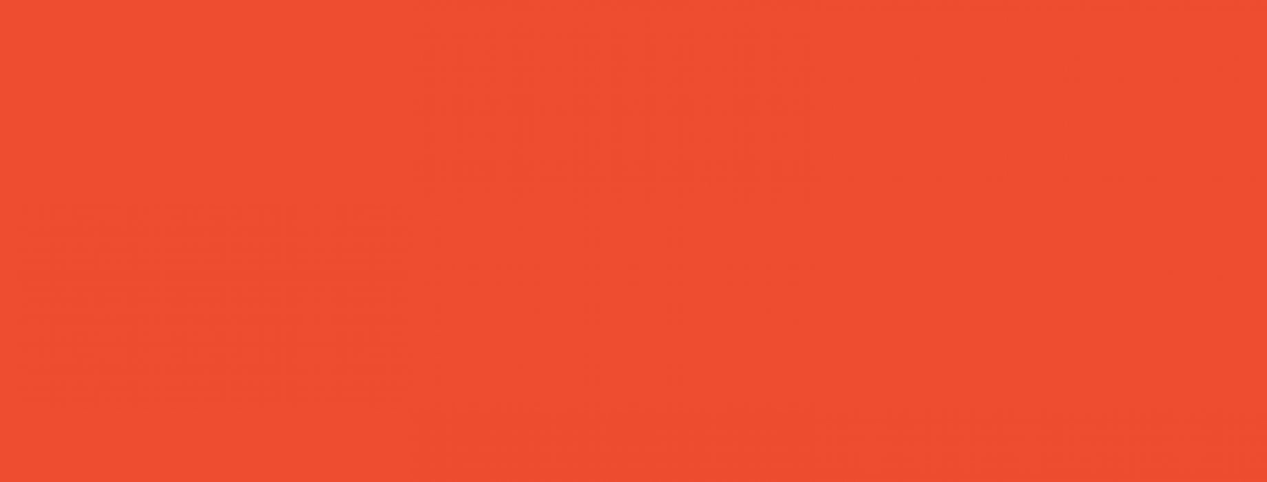 Solid Rectangle of Orange
