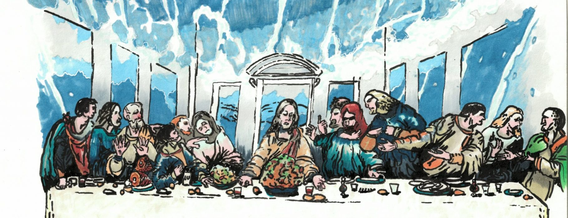 Last Supper tidal wave (1)