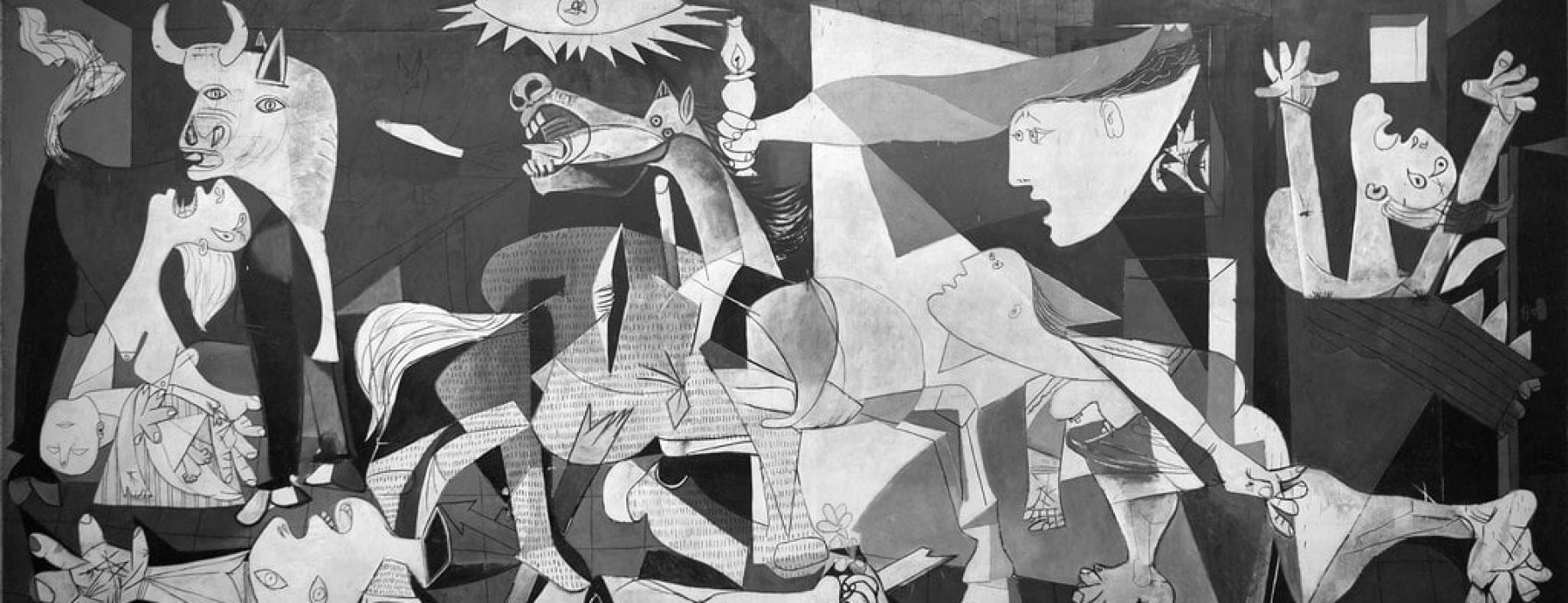 Picasso's painting immortalized the scenes of horror when Guernica was bombed on behalf of General Franco's forces. The painting remains an emblem of resistance to the dishonesty of powerful aggressors: at the time, Franco denied responsibility for the horrors, claiming that