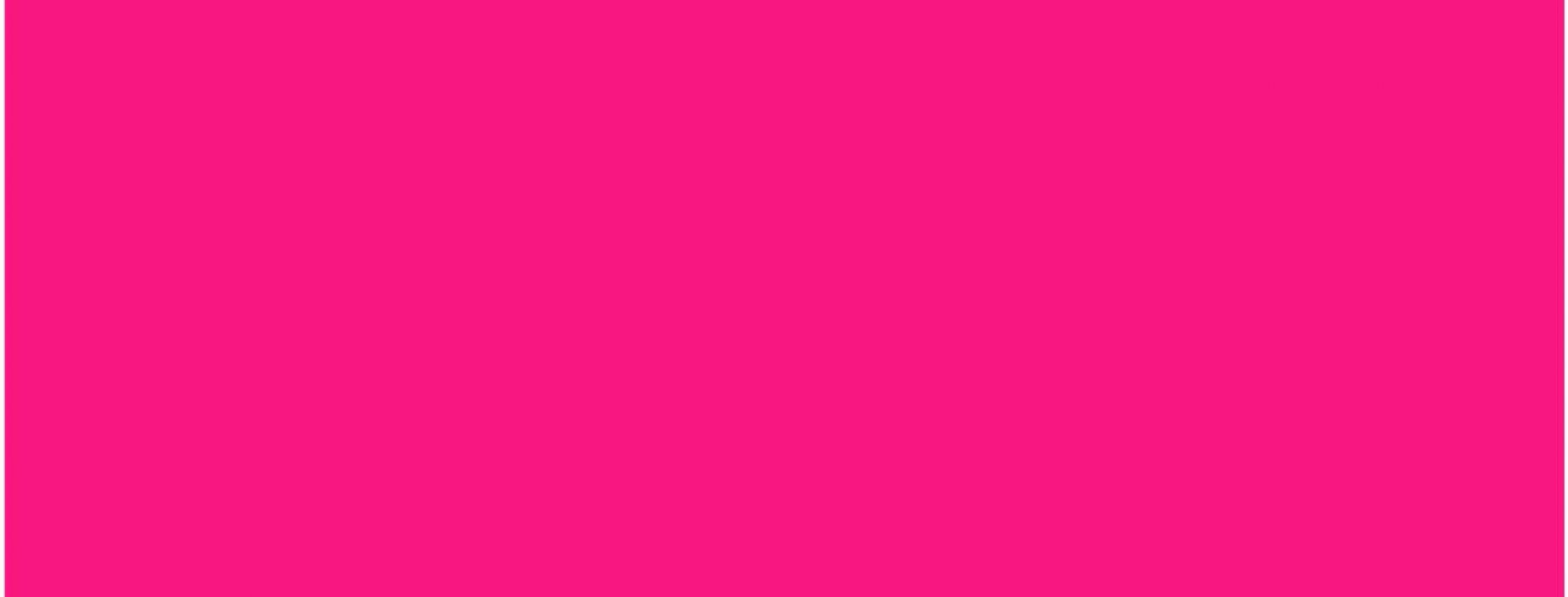 A rectangle of pink